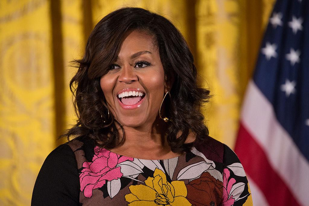 Picture of Michelle Obama Memoir