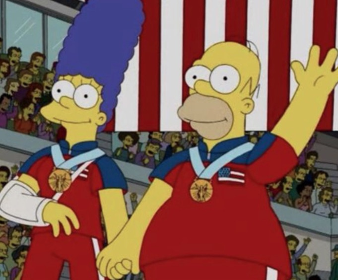Photo of The Simpsons Predicted This Stunning Olympic Upset Back in 2010