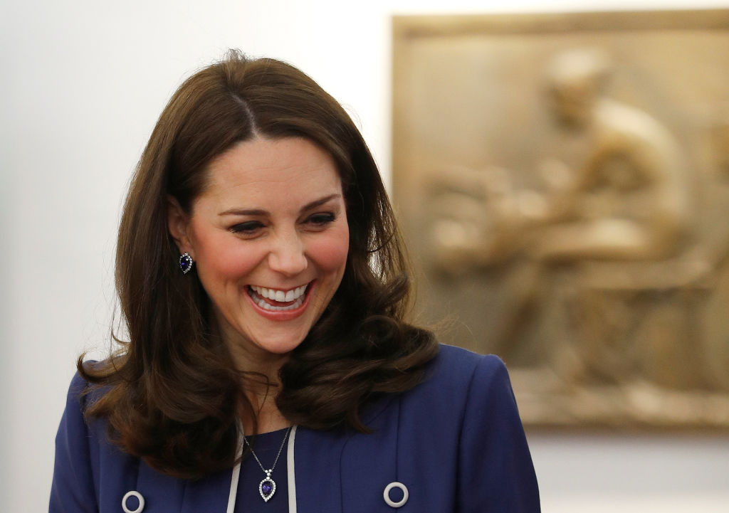 Kate Middleton joked about Prince William