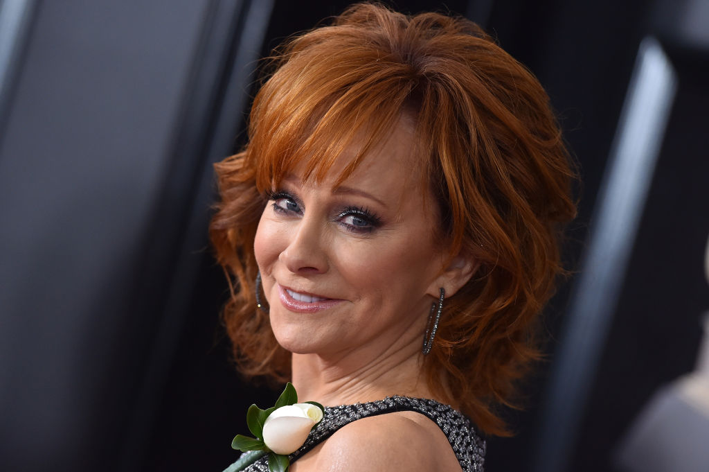 NEW YORK, NY - JANUARY 28: Recording artist Reba McEntire attends the 60th Annual GRAMMY Awards at Madison Square Garden on January 28, 2018 in New York City.