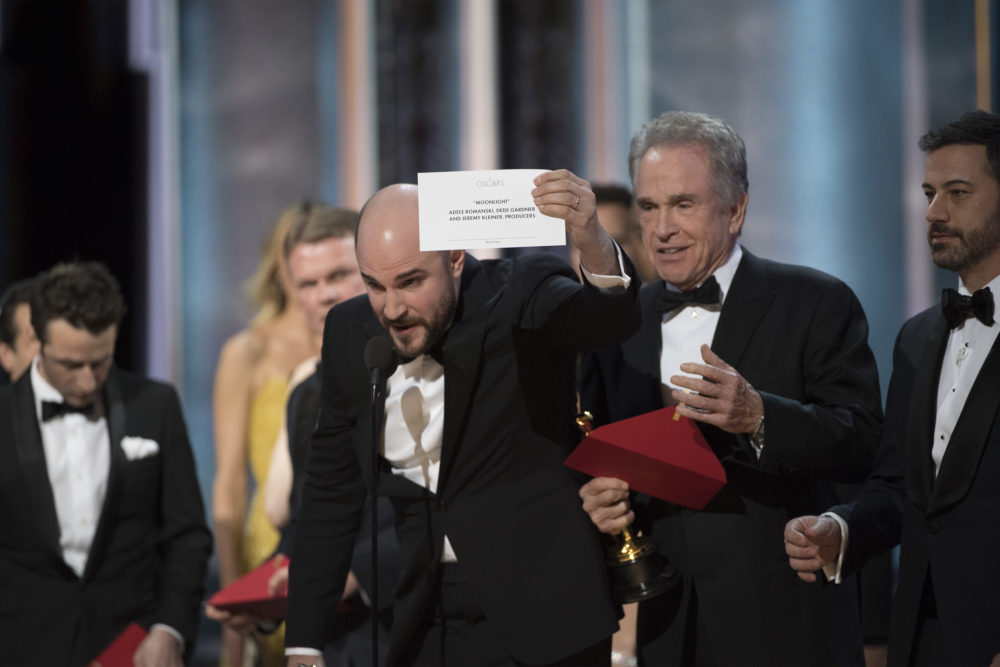 Oscar envelope