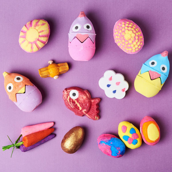 Easter Bath Products from Lush Cosmetics