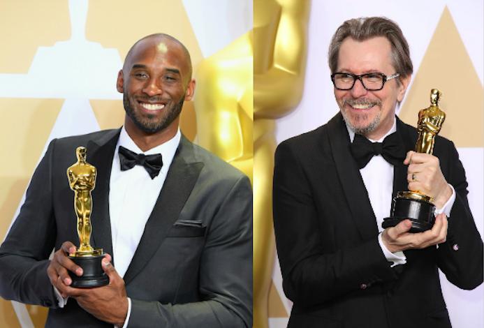 Kobe Bryant, Gary Oldman 2018 Oscars