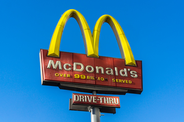 McDonald's arches are being flipped for International Women's Day