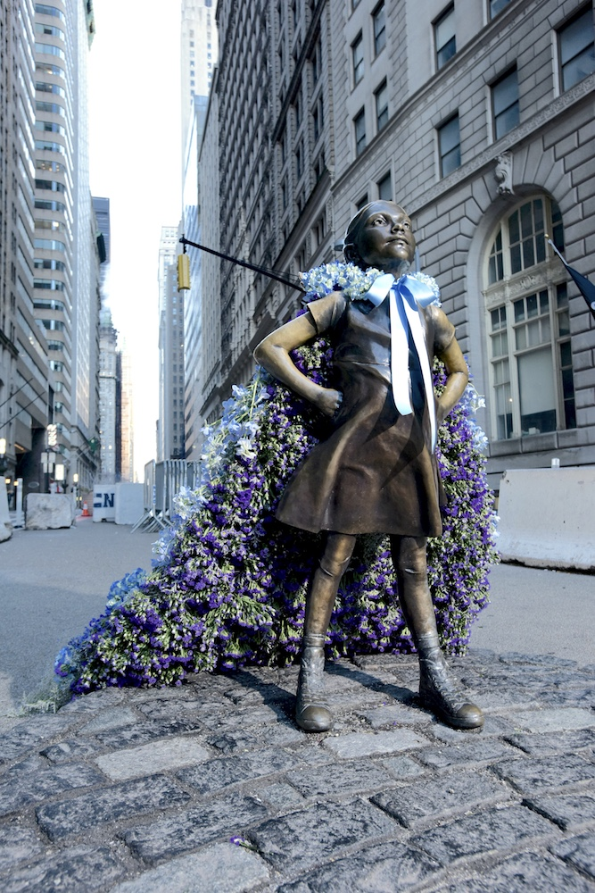 Fearless girl Old Navy