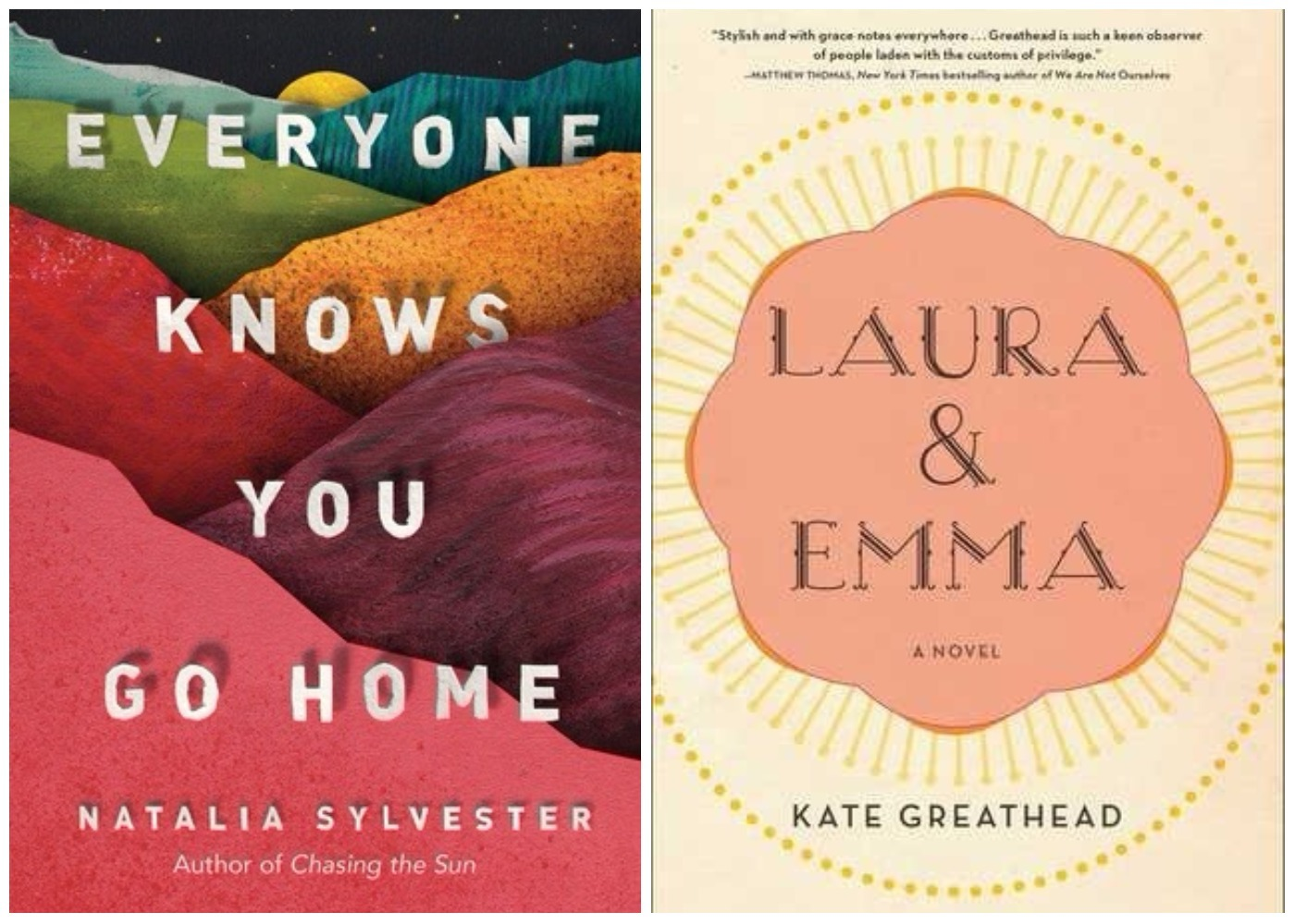 Picture of Everyone Knows You Go Home and Laura & Emma Books