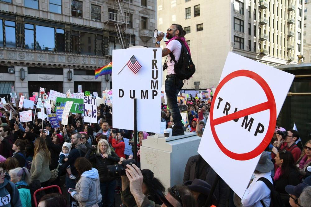 LA Trump protest