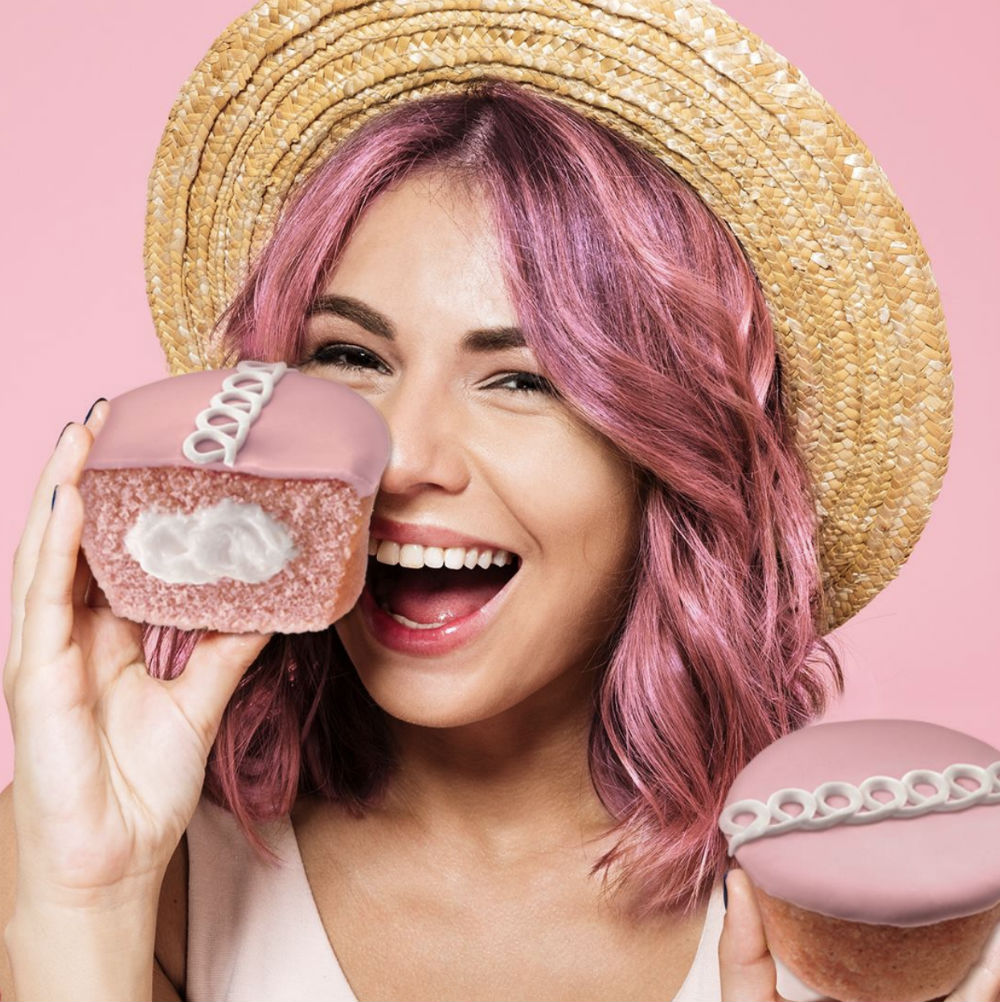 Hostess Strawberry Cupcakes