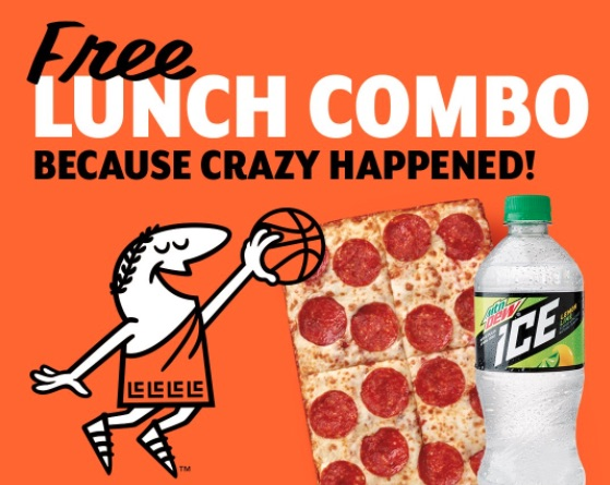Photo of Free Little Caesars Lunch Combo Advertisement
