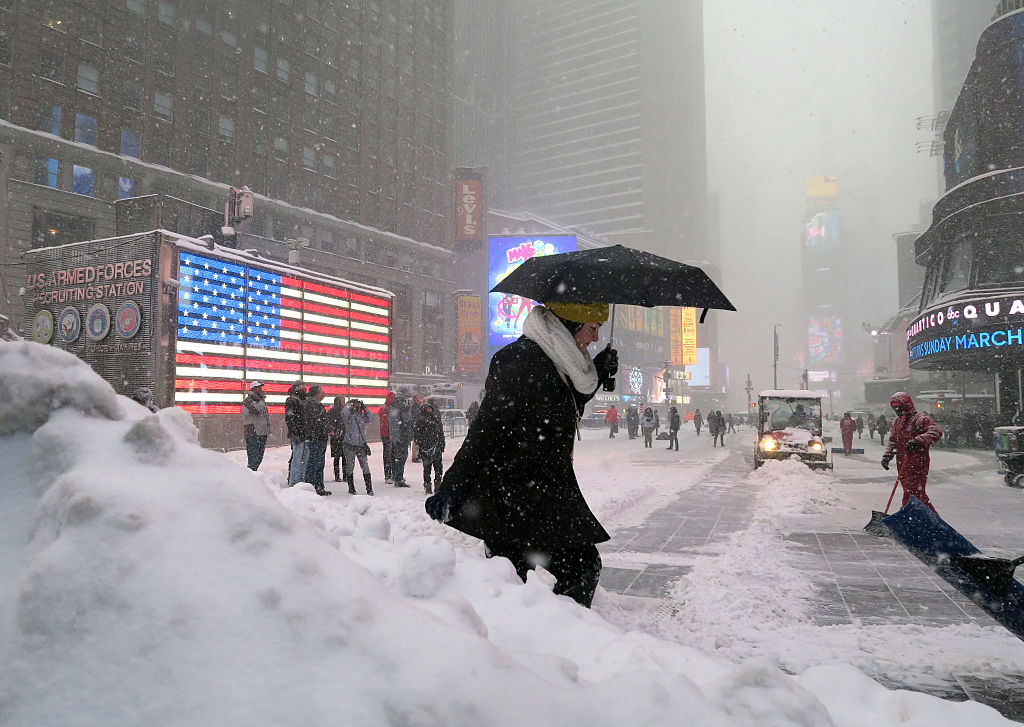 Picture of Winter Storm Toby NYC Snow