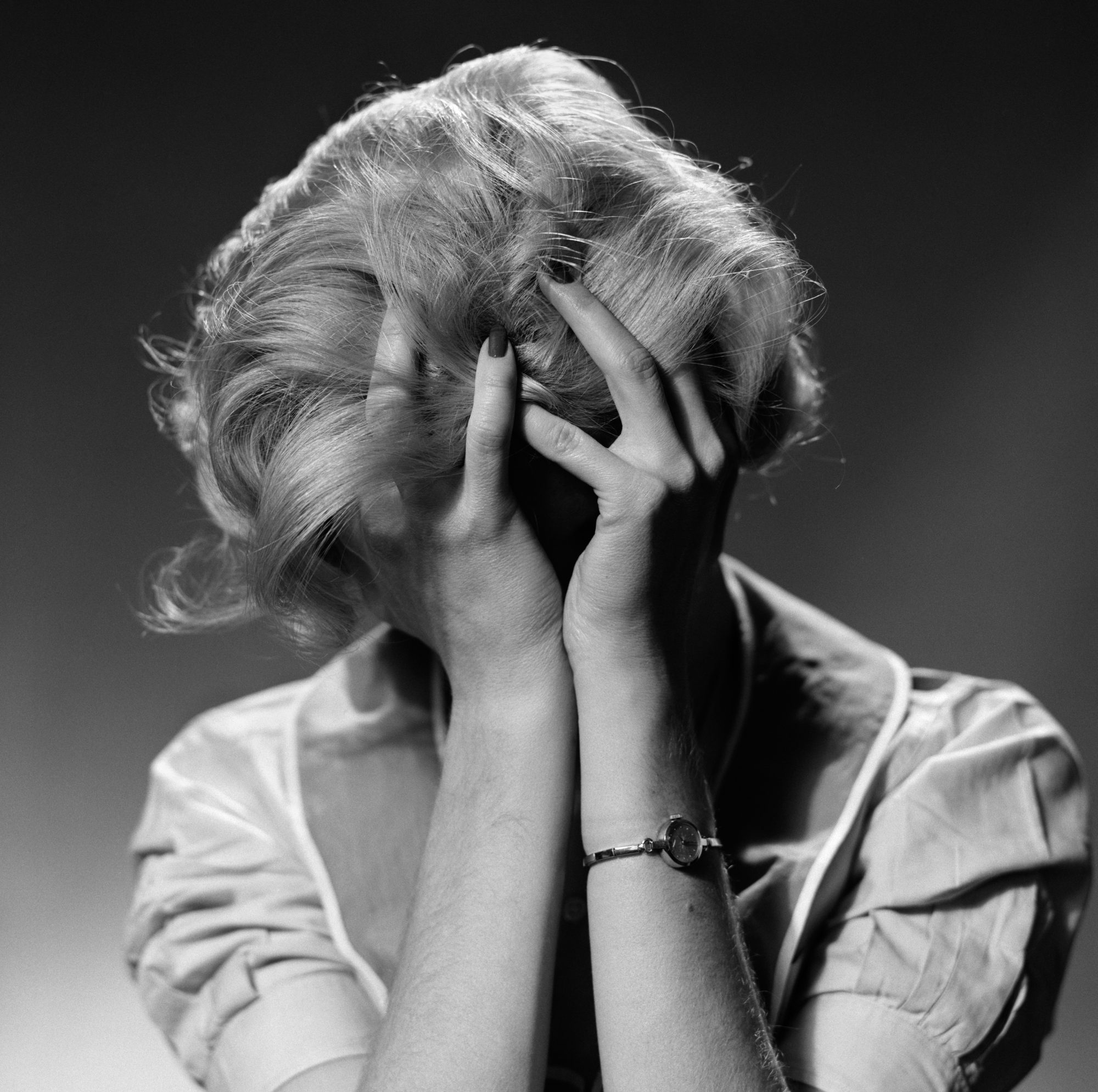 Image of frazzled woman