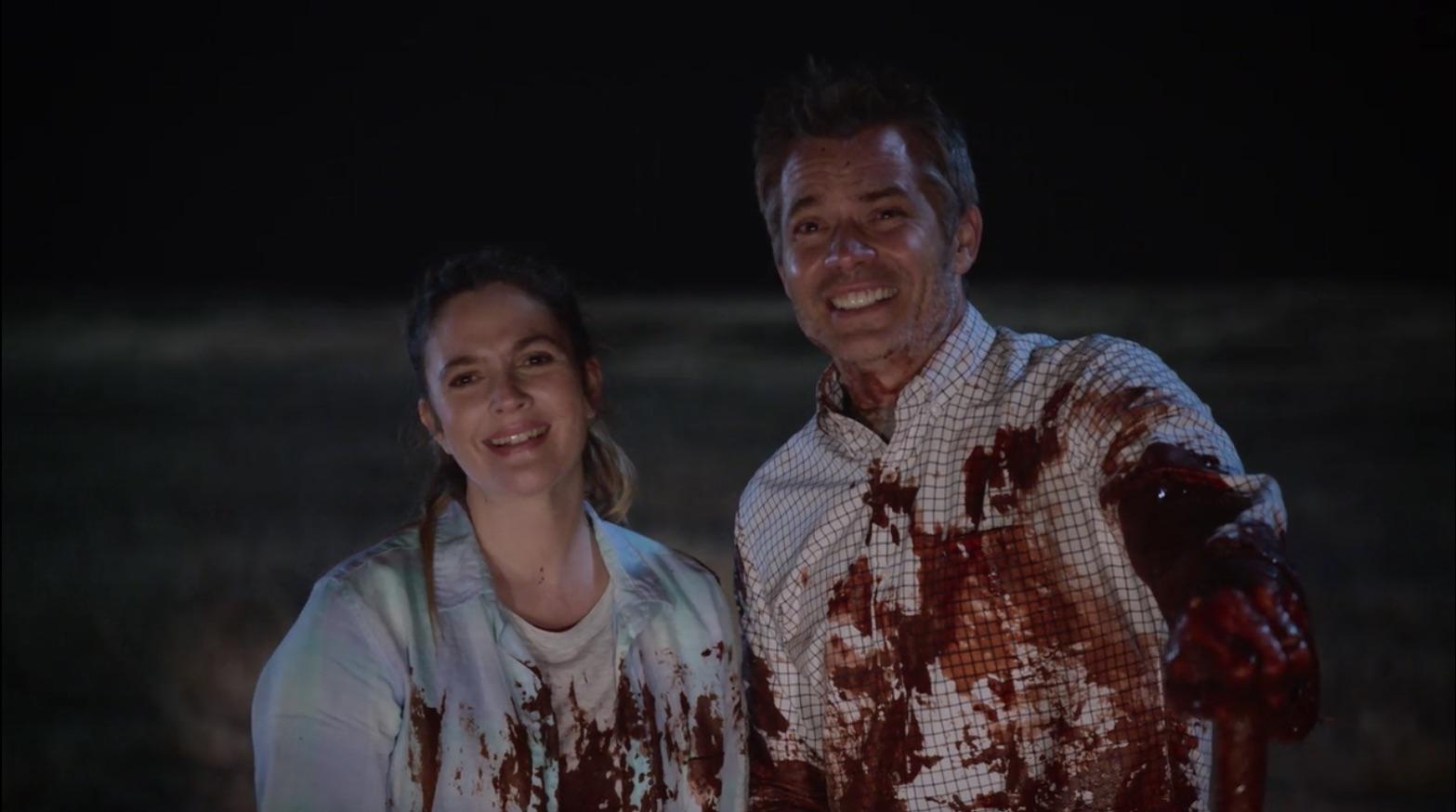 Picture of Drew Barrymore Santa Clarita Diet Blood