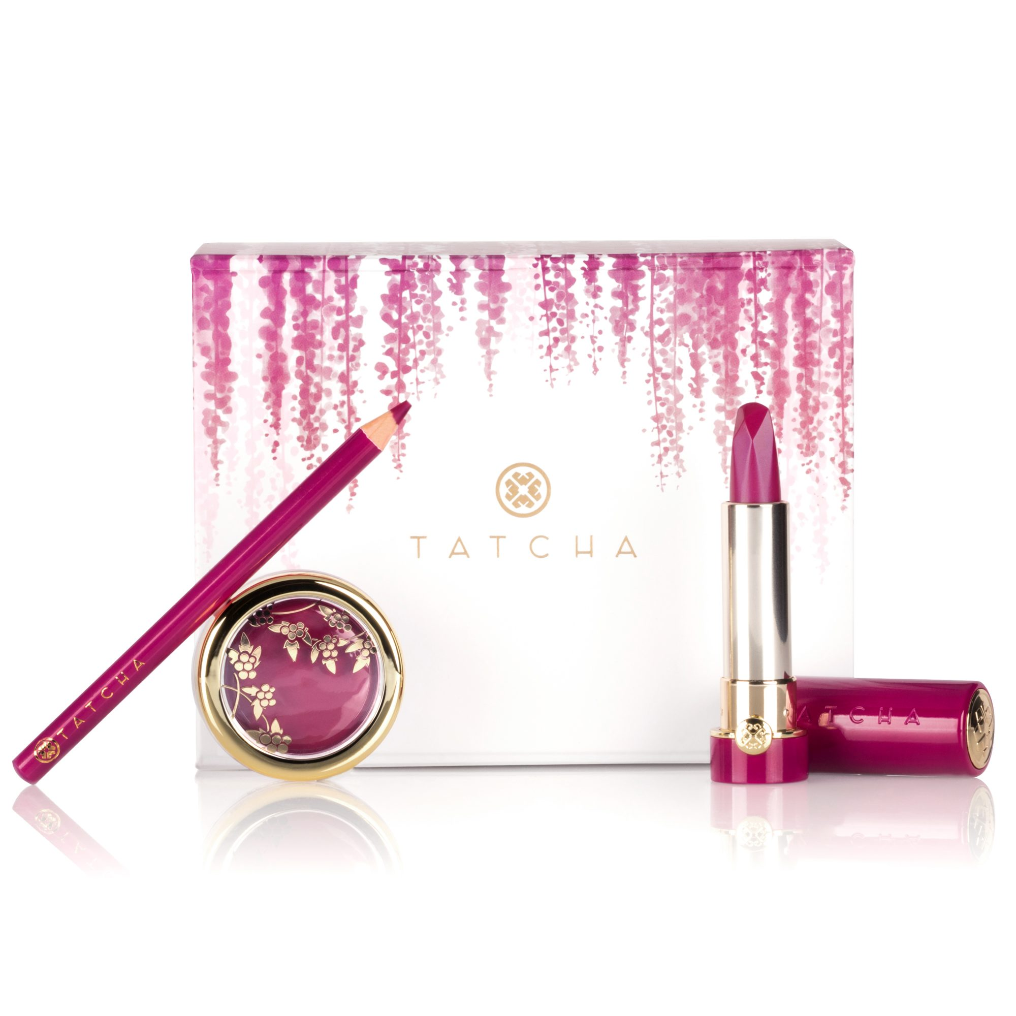 Tatcha BeautyBerry Lipstick Trio