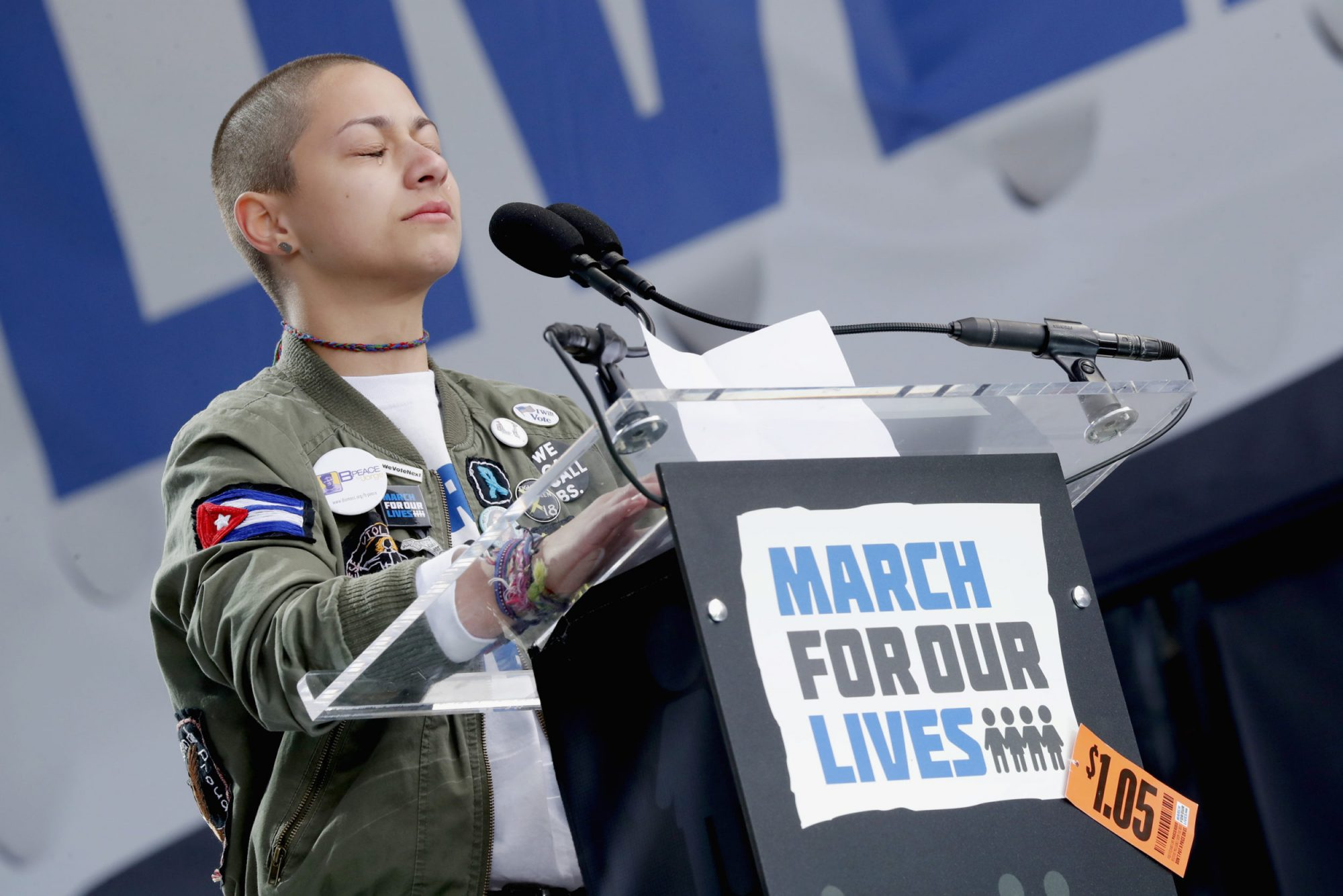 Photo of March For Our Lives Speaker Emma Gonzalez