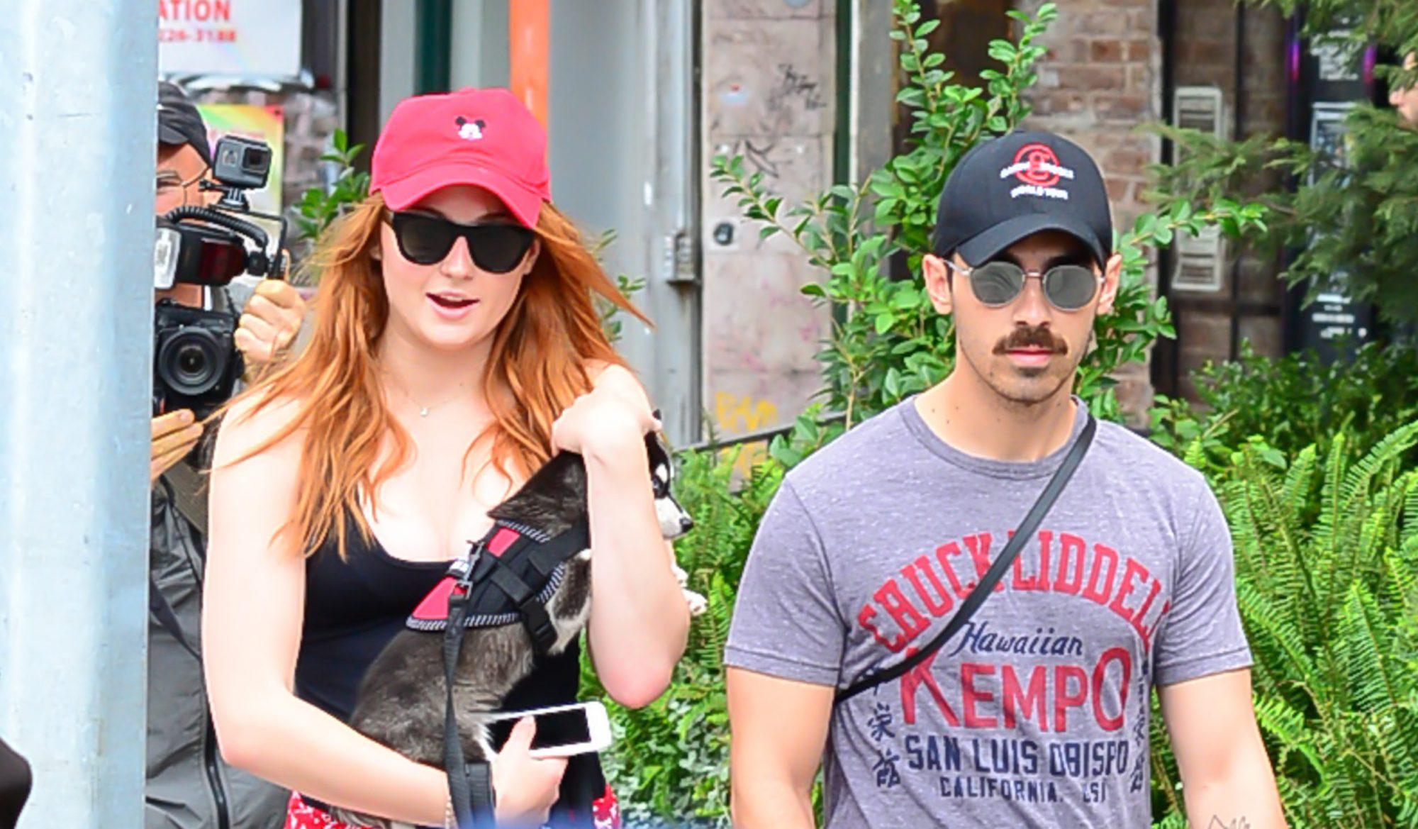 Photo of Sophie Turner and Joe Jonas