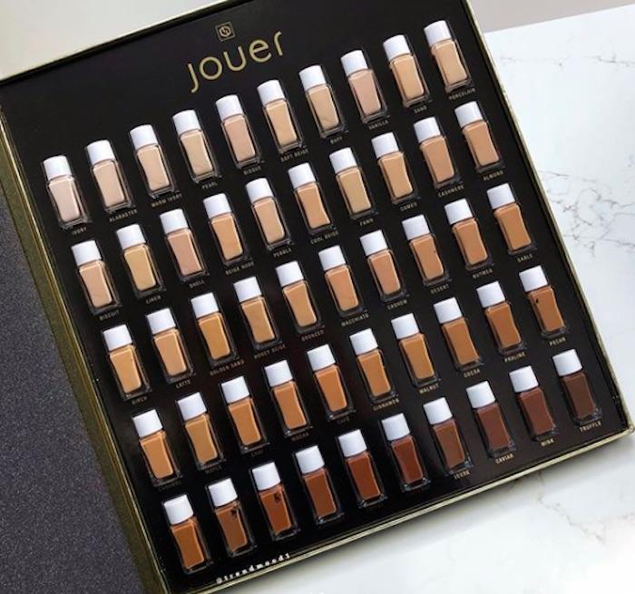 Jouer Cosmetics Adding 50 Foundation Shades