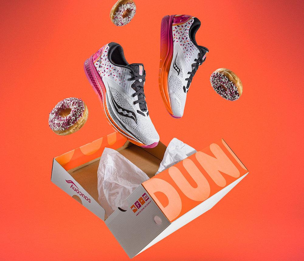 Saucony x Dunkin' Donuts Shoe