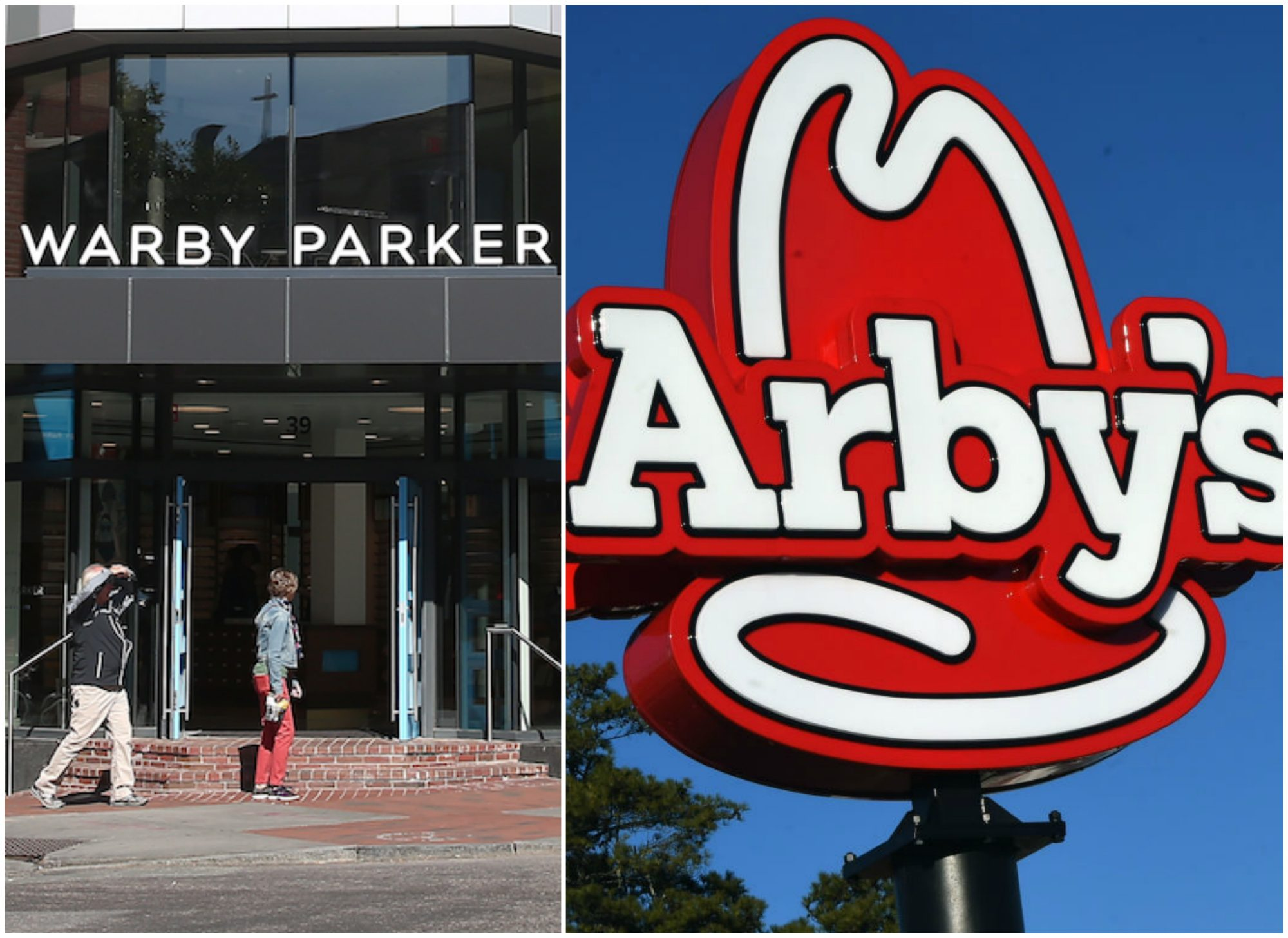 Arby's and Warby Parker April Fools'