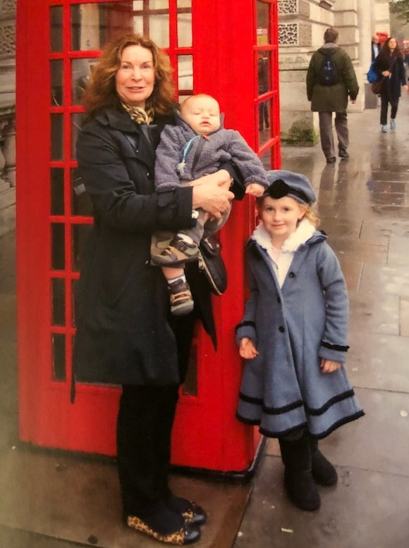 Trip to London with the grandkids. 2012.