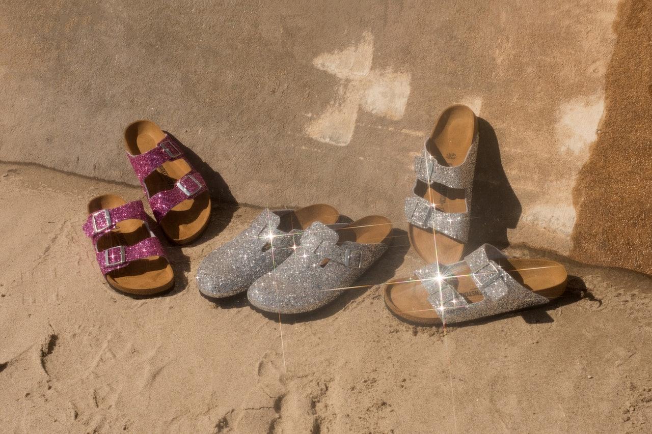 Glitter Birkenstocks