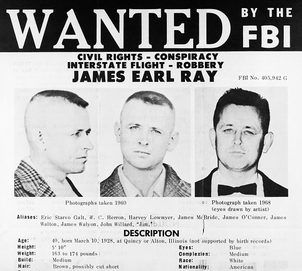 Things to know about James Earl Ray