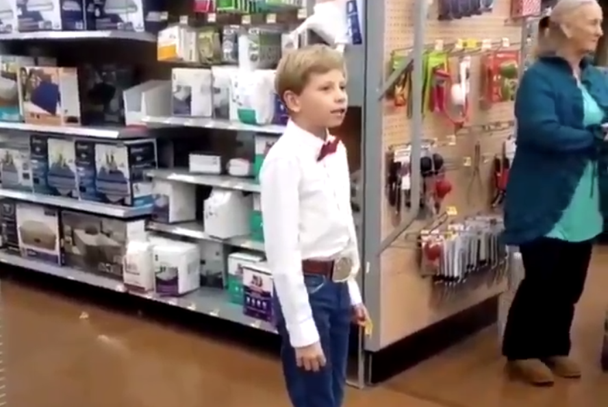 Walmart yodel boy