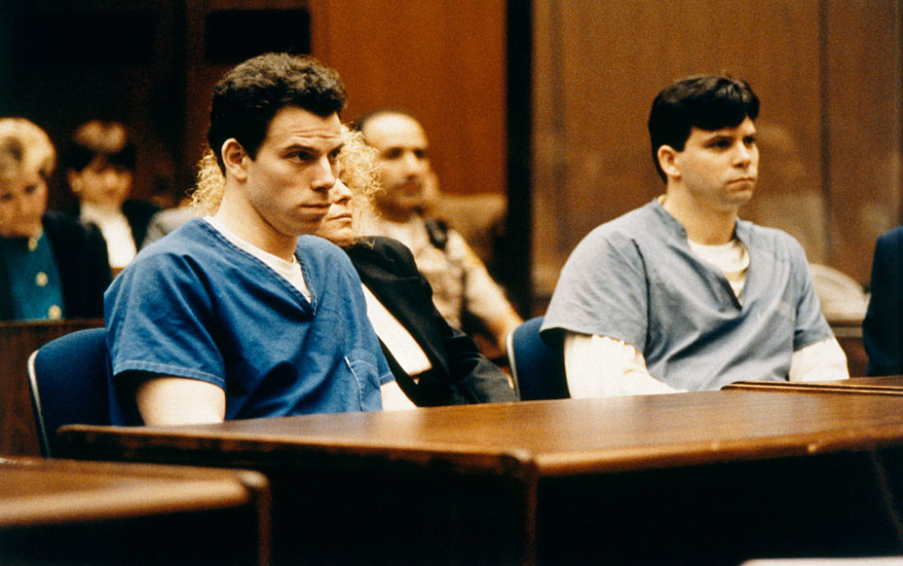 Who are the women who married the Menendez brothers?