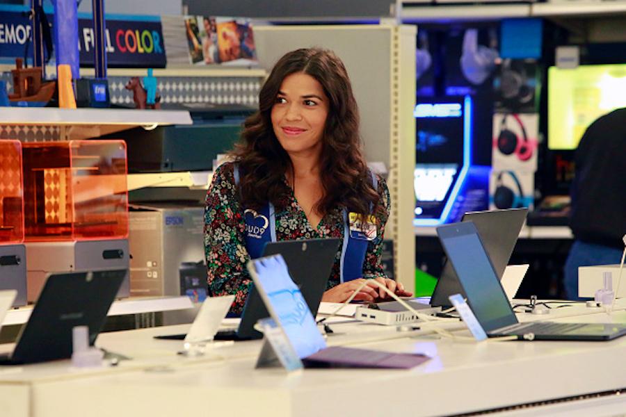 """America Ferrera in NBC's """"Superstore"""""""
