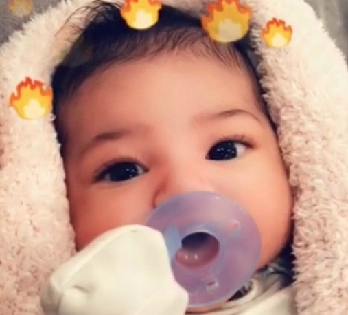 Photo of Baby Stormi Webster