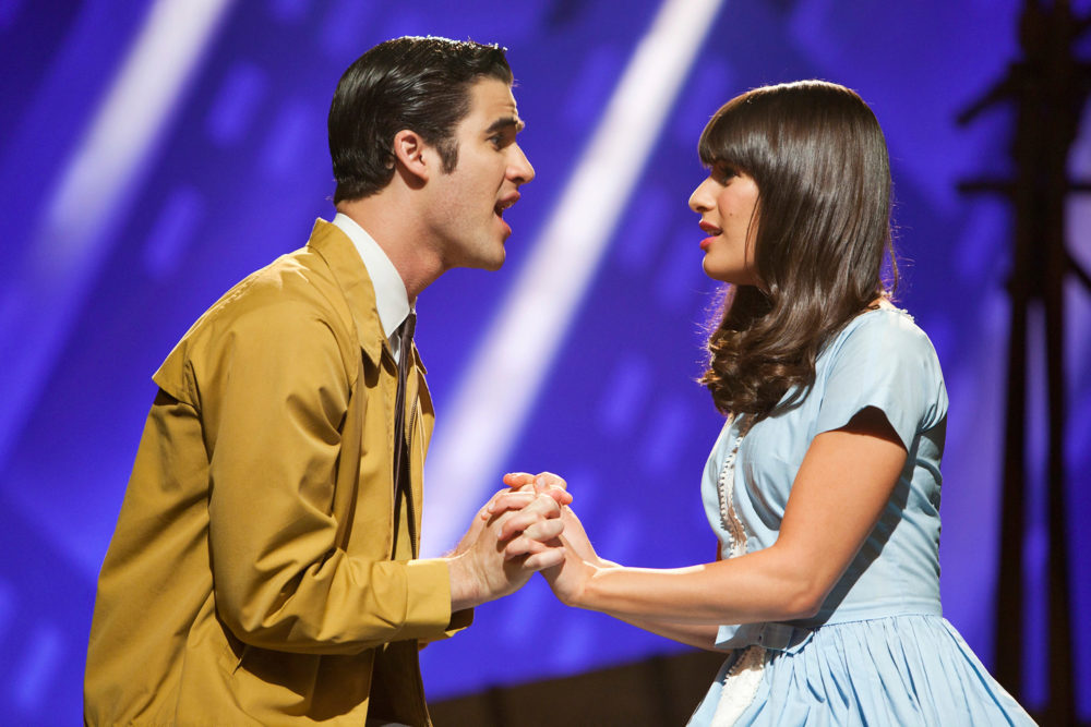 Glee Darren Criss Lea Michele