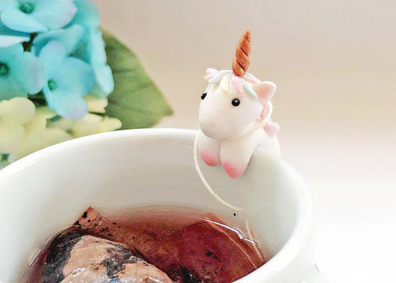 Unicorn Tea Bag Holder