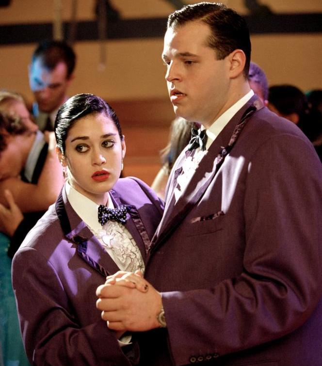 Image of Janice and Damien dancing at prom