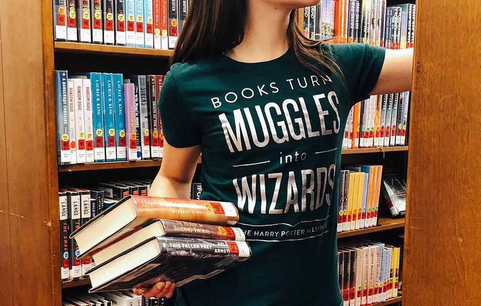 Picture of National Library Week Muggles Tee