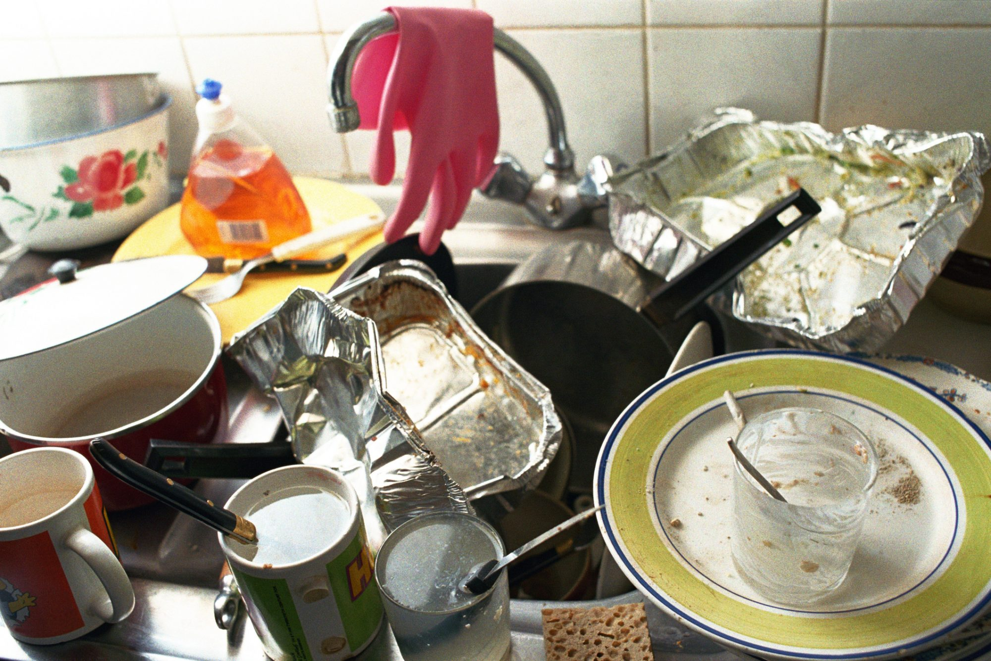Kitchen items to throw out