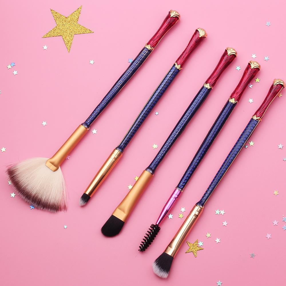 Wonder Woman Makeup Brushes