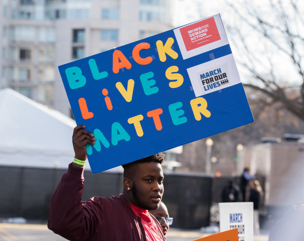 Black teen Brennan Walker shot at by white man on his way to school.