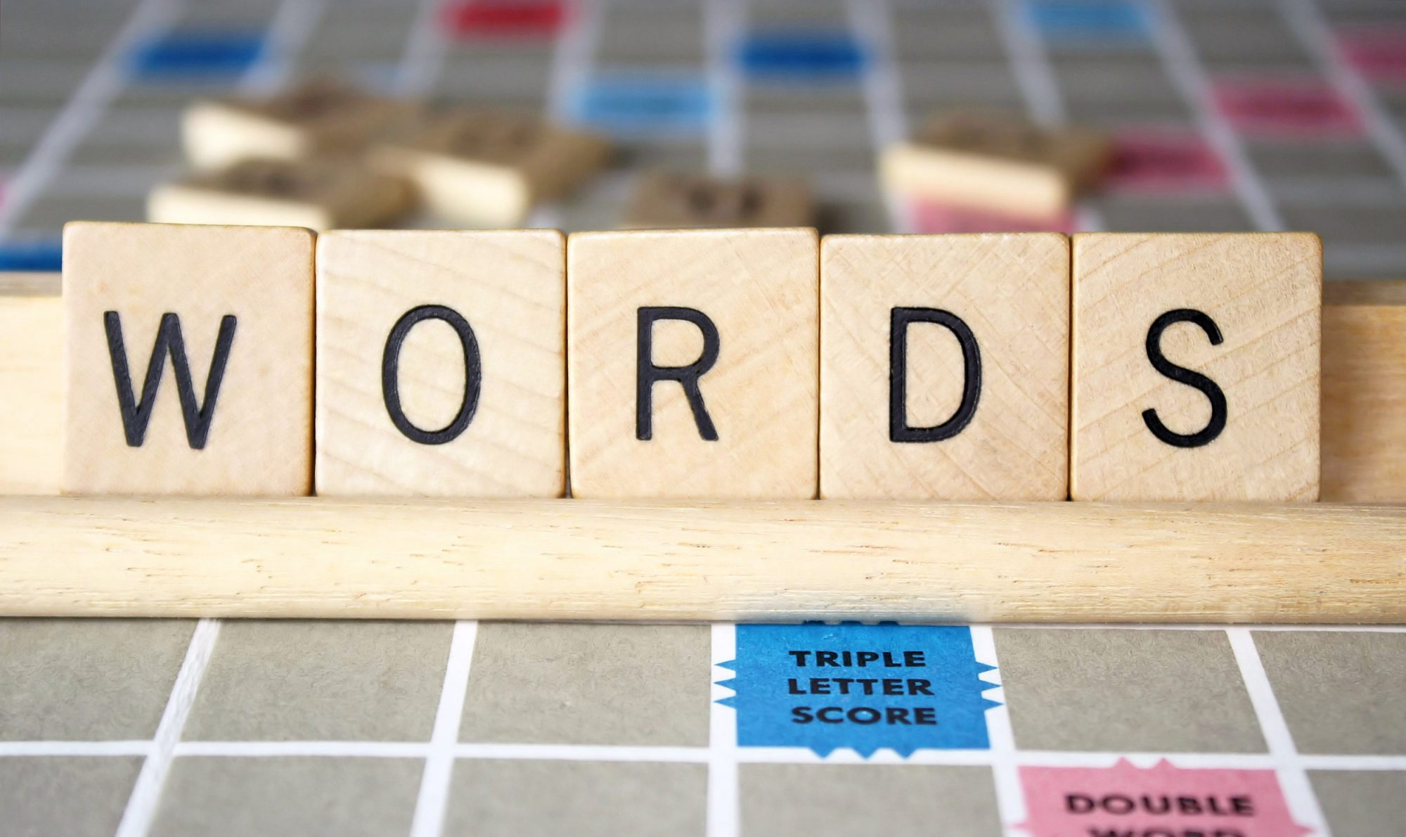 Photo of Scrabble Board
