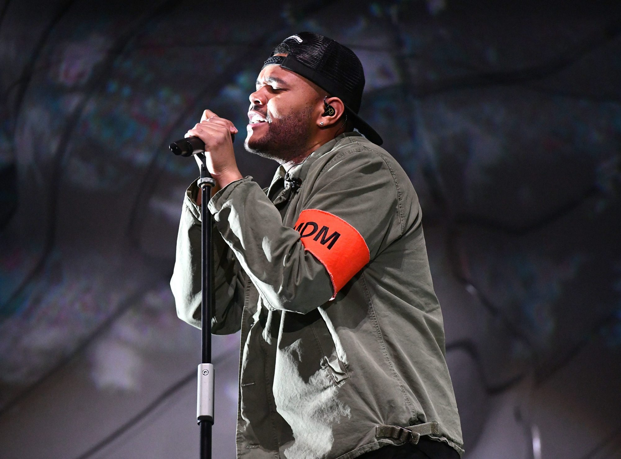 Photo of The Weeknd Performing at Coachella