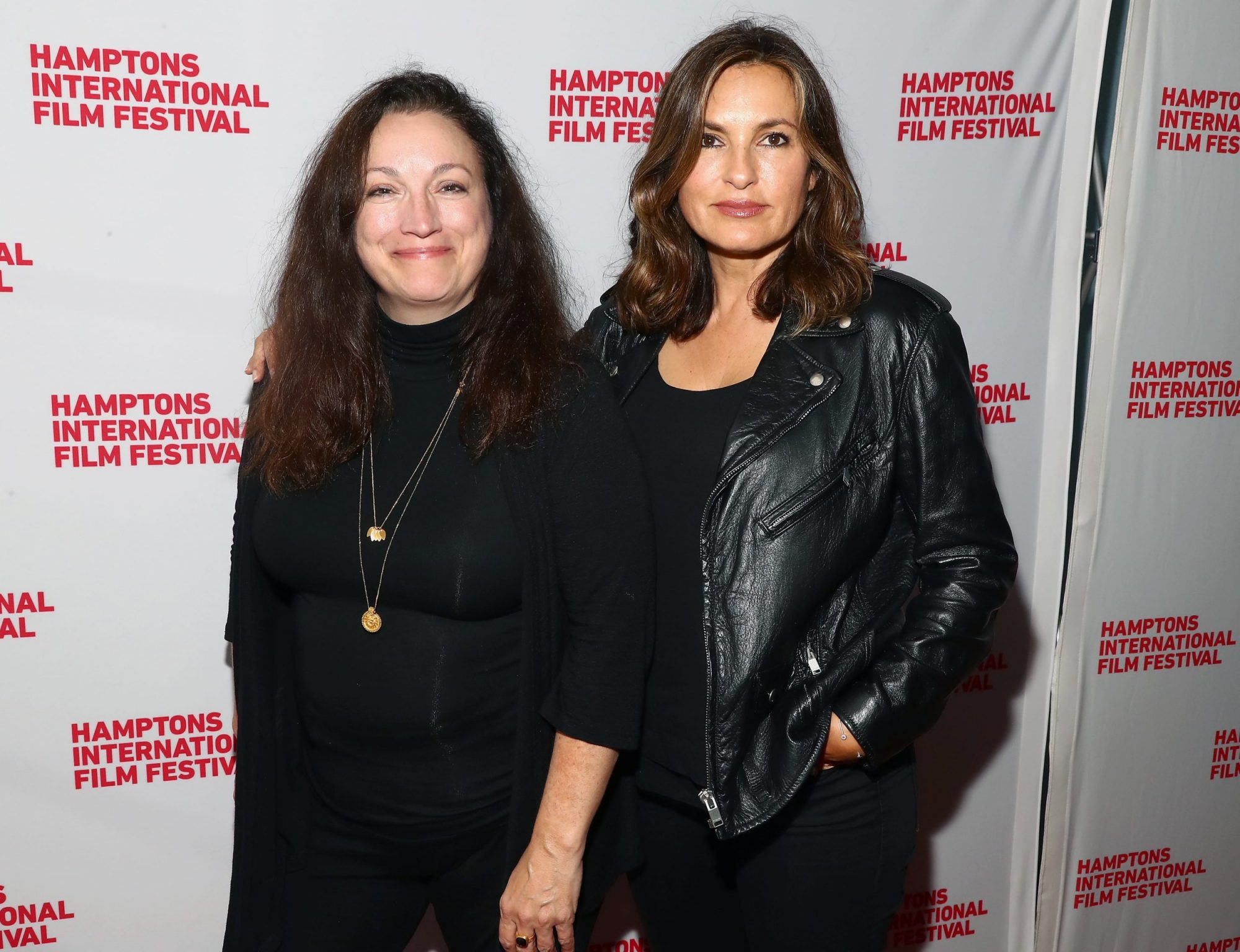 Photo of Mariska Hargitay and Trish Adlesic