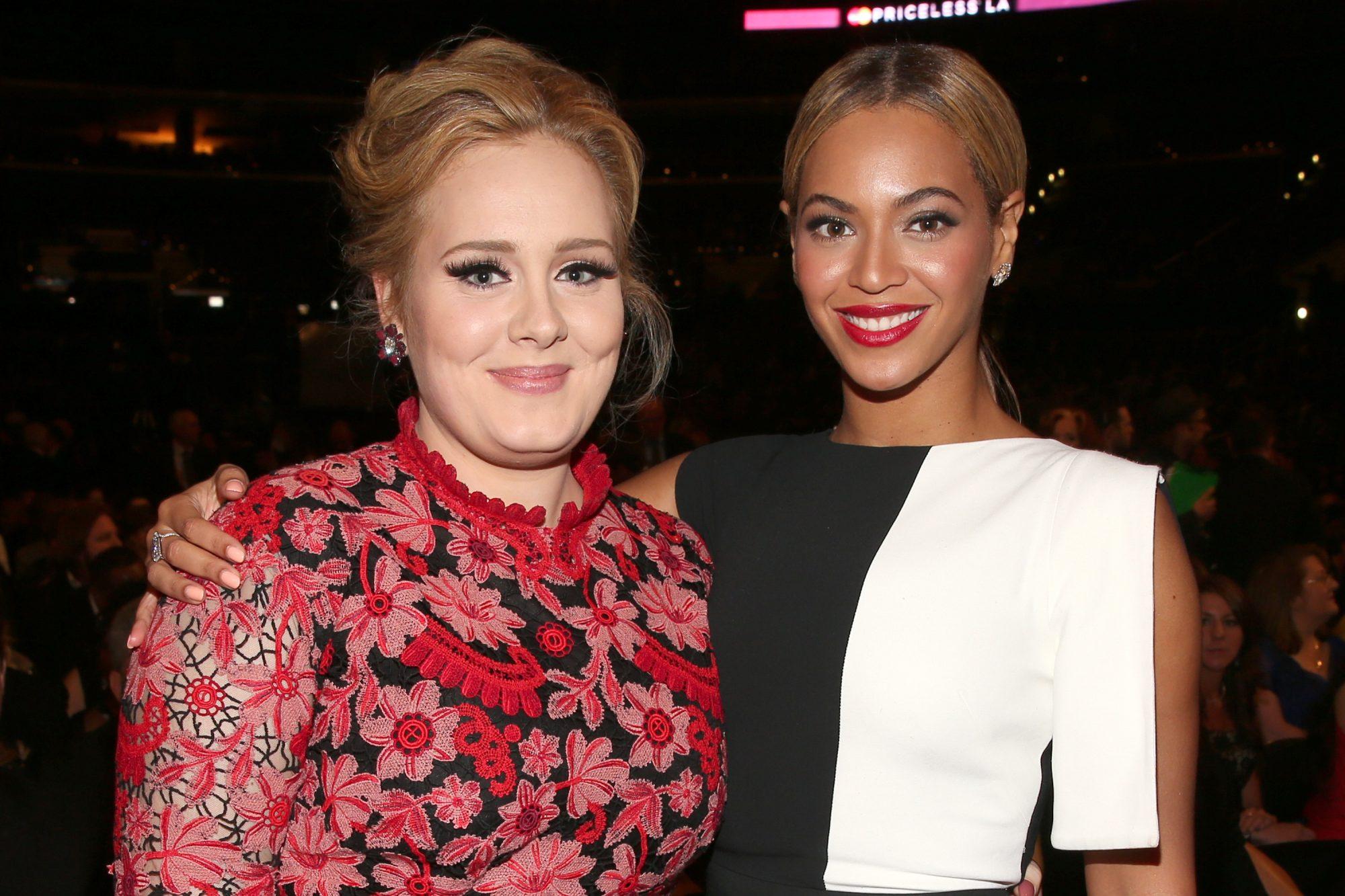 Picture of Adele Beyoncé Coachella Performance