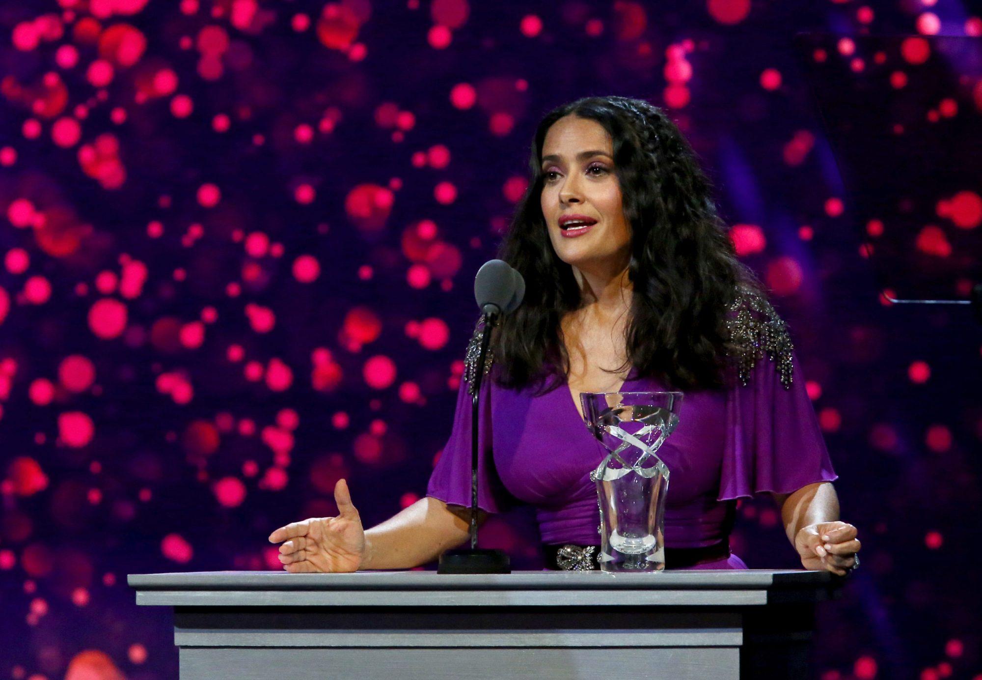 Photo of Salma Hayek Pinault at 7th Biennial UNICEF Ball