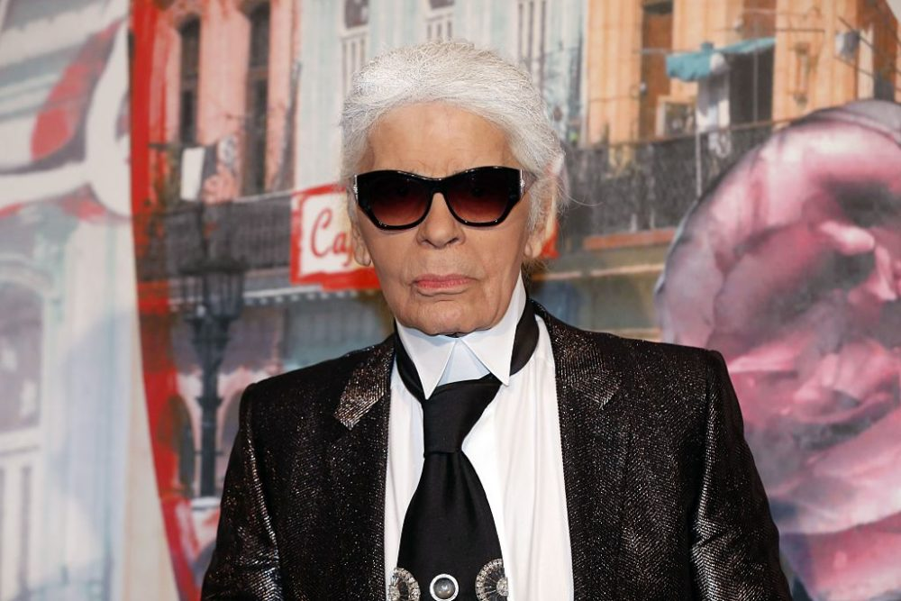 Chanel designer Karl Lagerfeld says models who don't want to be groped shouldn't become models