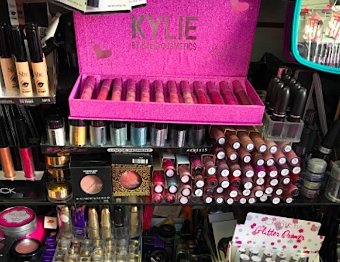 Counterfeit Makeup LAPD