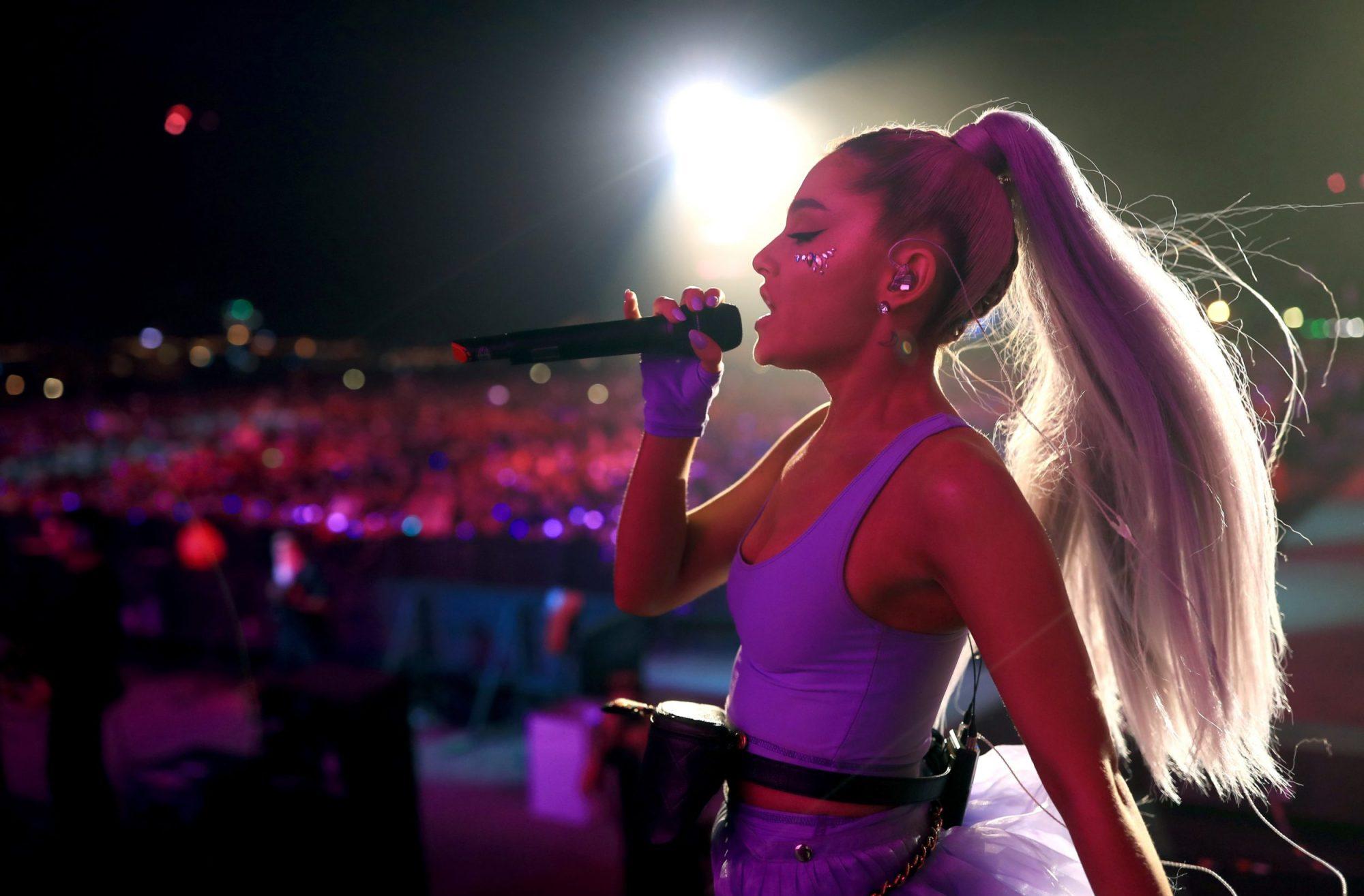 Photo of Ariana Grande at Coachella
