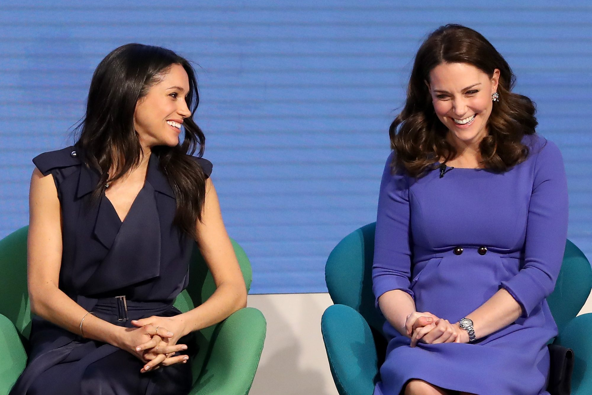 Photo of Kate Middleton and Meghan Markle