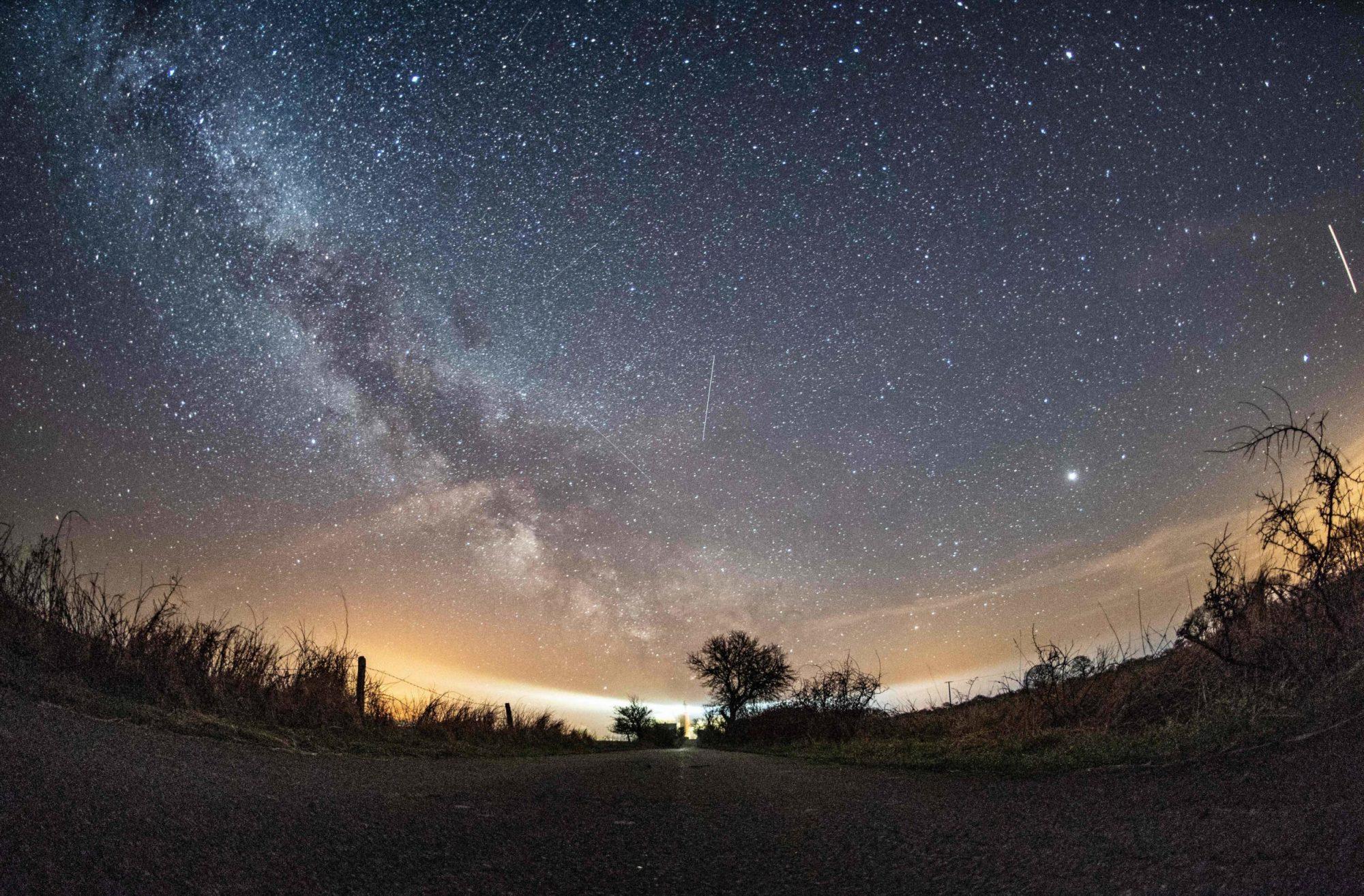Photo of Lyrid Meteor Shower in Germany