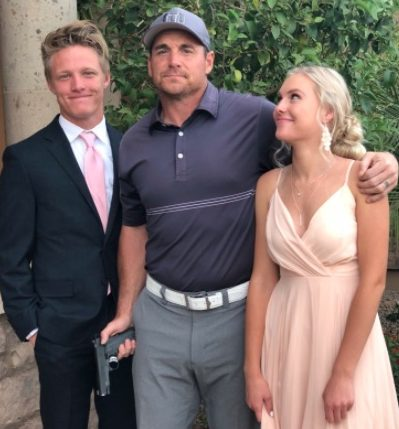 Photo of Jay Feely With Daughter and Her Prom Date