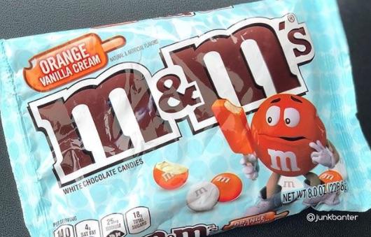 Picture of Orange Vanilla Cream M&Ms