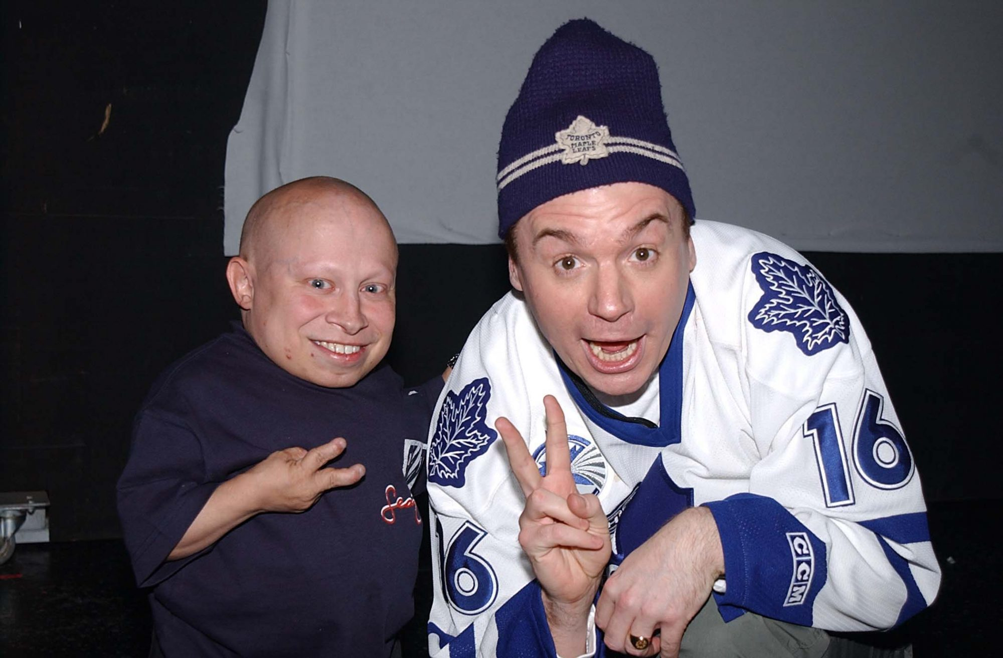 Picture of Verne Troyer Mike Myers