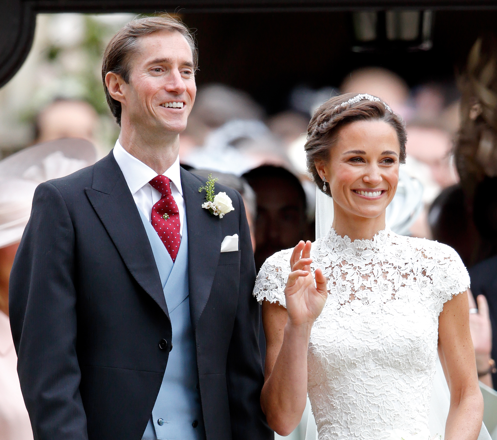 Photo of Pippa Middleton and James Matthews
